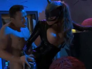 Madelyn Marie as PVC Catwoman