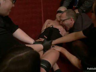 Jessie cox has bestraft und gefickt von ein party von men
