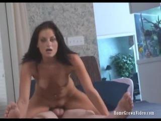 brünette, hardcore sex, harten fick
