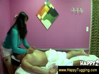 Oosters massage masseuse cfnm hand banen wanking aftrekken hand baan tugging tug baan bigtits bigboobs