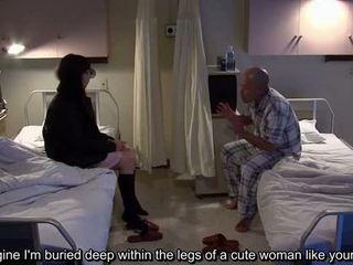 Subtitled uncensored bizar ziekenhuis japans afrukken