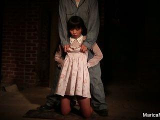 Marica gets stripped och fondled i den källaren