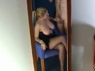 big, tits, husband