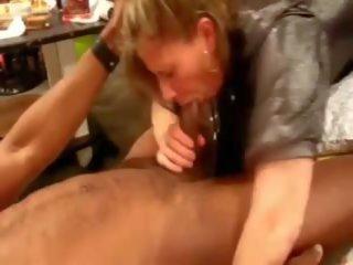 Interracial Three some Horny MILF BBC Lover: Free Porn 68