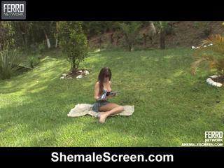 Super možača zaslon film s čudovito porno zvezde mariana, nikki, alessandra