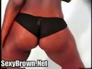 Sexy brown my big booty friends black diamond wet phat azz