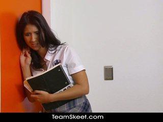 brunetă, student, pradă
