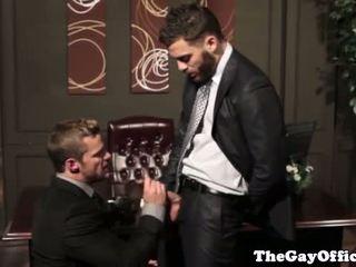 Homo kantoor dekhengst getting bips pounded