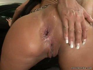 Rotondo butted pupa christina bella acquires un load di cream pie in suo luch holes