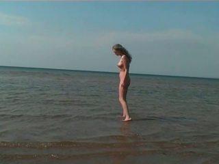 пляж, hd порно