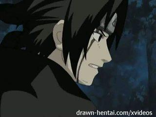Naruto hentai - double penetrated sakura