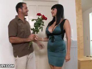 Delicious Babe Aletta Ocean Fucking Big Cock