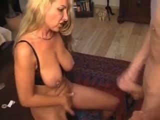 mature, mom, blonde