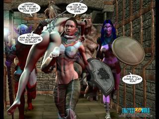 תלת ממדים קומיקס עולם של neverquest chronicles 2