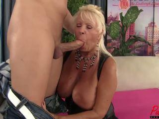 Busty Blonde GILF Mandi Mcgraw Enjoys some Cock: HD Porn f5