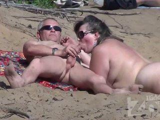 ssać, podglądanie, plaża