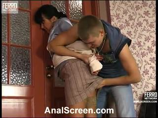 Barbara dhe patrick i eksituar anale kapëse