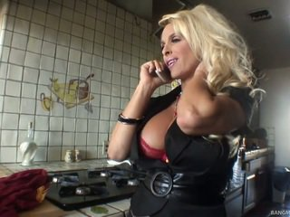Blonde Mom Has Made Love By Her Step S...