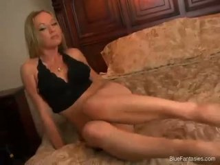 Pretty babe Kayden Kross gets horny and hot on her room