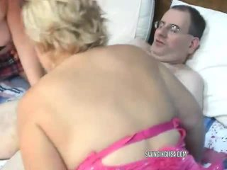 Liisa and Chloe are sharing a cock