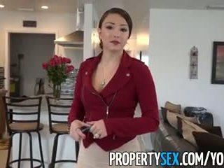 Propertysex - besar pantat/ punggung warga latina sebenar estate agent menipu ke dalam amatur seks video