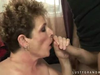 Lusty নানী gets হার্ডকোর কঠিন