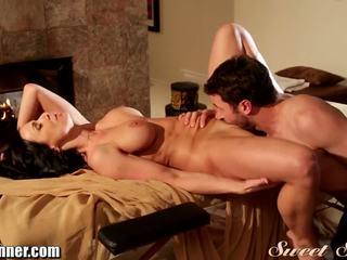 SweetSinner James Deen Massages MILF with Happy Ending