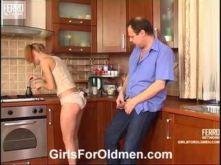 Emilie And Hubert Cutie And Oldman Scene