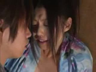Ιαπωνικό οικογένεια (brother και sister) σεξ part02