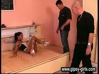 Έξω doors σύγχρονος ερασιτεχνικό gipsy κορίτσια gipsy-28