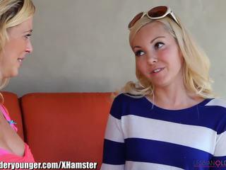 Lesbianolderyounger aaliyah liebe eating milf aus