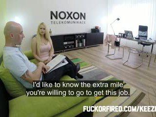 Assfucked ใน a งาน สัมภาษณ์