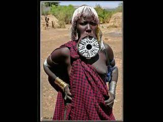 Nigerian tự nhiên phi cô gái