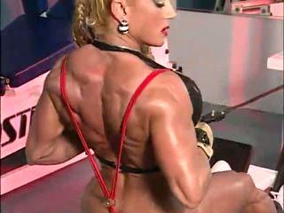 fetisch, muscle women