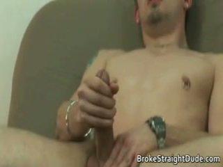 Bög film scen av braden och jeremy having intercourse på en säng 5 av brokestraightdude