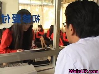 Ázsiai lányok getting egy amoral szex