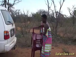 Dzikie afrykańskie safari seks orgia, darmowe dzikie seks hd porno 33