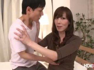 性感 日本語 reiko fucks 到 得到 一 完美 score