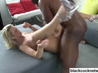 Emily austin has her amjagaz destroyed by mandingo video