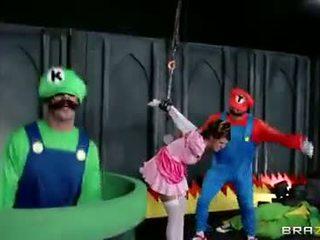 Super mario - prinses neuken