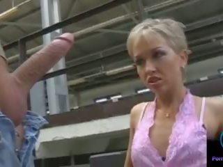 Monique škubání thomas kámen obrovský shaft outdoors: porno 33