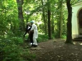 Turned edasi blond nunn getting perses doggy stiil