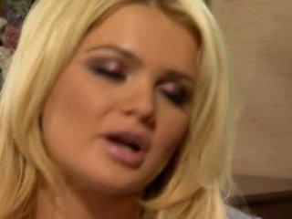blondes, blowjob tindakan, cock sucking