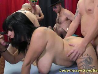 Němec amatér souložit strana orgie, volný gangbang vysoká rozlišením porno ae