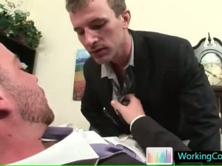 Job interview resulting in hot steamy gay