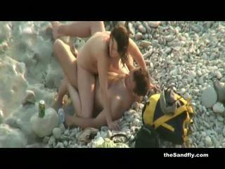 Thesandfly publiek heet & geil strand amateurs!