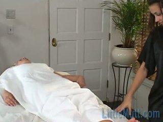 Georgia Gives A Massage