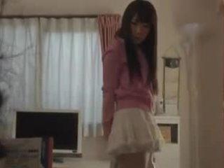 Japonesa adolescentes fucks seu brains fora em um realidade exposição