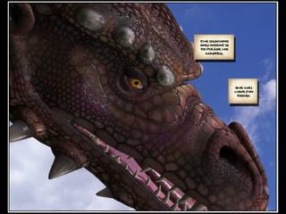 Tatlong-dimensiyonal komiko dragon rider 1
