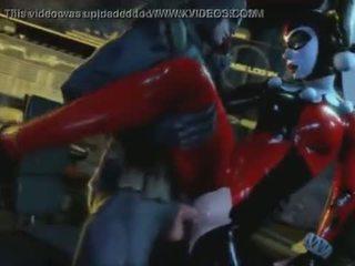Harley Quinn in Batman have sex